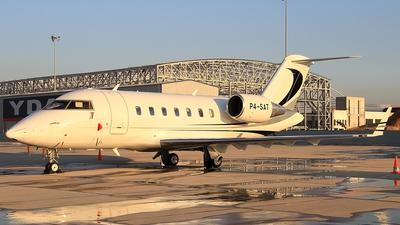 P4-SAT - Bombardier CL-600-2B16 Challenger 605 - Air Pilatus