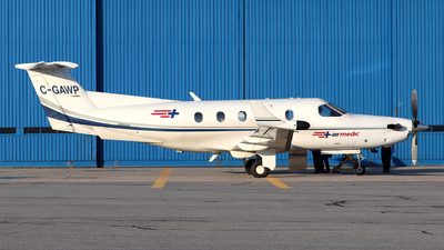 A picture of CGAWP - Pilatus PC12/45 - Pascan Aviation - © Guy Langlois