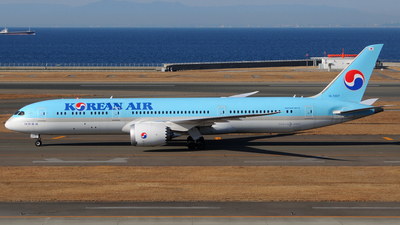 A picture of HL7207 - Boeing 7879 Dreamliner - Korean Air - © Kinmei