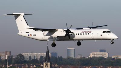 D-ABQO - Bombardier Dash 8-Q402 - Eurowings (LGW Luftfahrtgesellschaft Walter)
