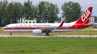 B-1279 - Boeing 737-89P - China United Airlines