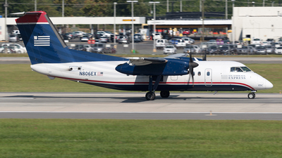 N806EX - Bombardier Dash 8-102A - US Airways Express (Piedmont Airlines)