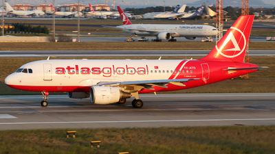 TC-ATD - Airbus A319-112 - AtlasGlobal
