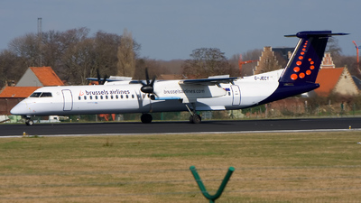 G-JECY - Bombardier Dash 8-Q402 - Brussels Airlines (Flybe)