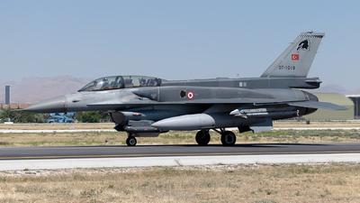 07-1019 - General Dynamics F-16D Fighting Falcon - Turkey - Air Force