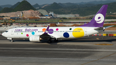 A picture of B6991 - Boeing 73786N - 9 Air - © LingFeng