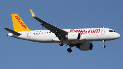 TC-NCC - Airbus A320-251N - Pegasus Airlines