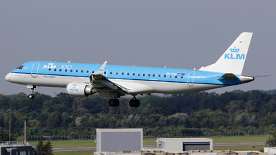 PH-EXC - Embraer 190-100STD - KLM Cityhopper