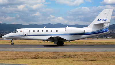 XA-ICO - Cessna 680 Citation Sovereign - Private