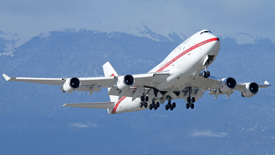 A6-YAS - Boeing 747-4F6 - United Arab Emirates - Abu Dhabi Amiri Flight