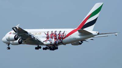 A6-EUA - Airbus A380-861 - Emirates