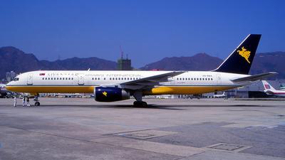 V8-RBA - Boeing 757-2M6 - Myanmar Airways International (MAI)