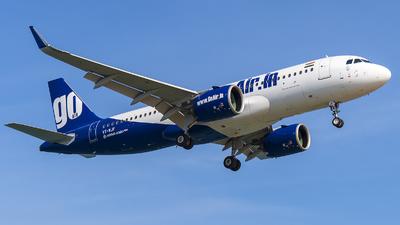VT-WJF - Airbus A320-271N - Go Air