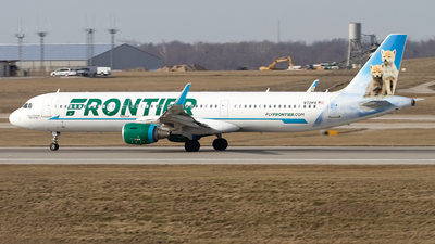 A picture of N721FR - Airbus A321211 - Frontier Airlines - © Jeremy D. Dando