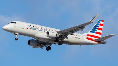 A picture of N272NN - Embraer E175LR - American Airlines - © Martin Pinnau