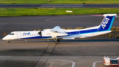 A picture of JA463A - De Havilland Canada Dash 8400 - All Nippon Airways - © Shogo Kawai