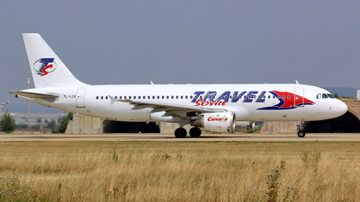 YL-LCA - Airbus A320-211 - Travel Service (SmartLynx Airlines)