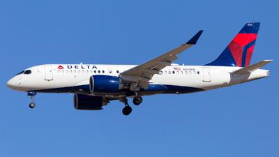 A picture of N125DU - Airbus A220100 - Delta Air Lines - © HA-KLS