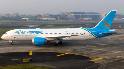 A picture of 5HTCJ - Boeing 7878 Dreamliner - Air Tanzania - © Aneesh Bapaye