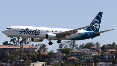 A picture of N274AK - Boeing 737990(ER) - Alaska Airlines - © Angelos Panou