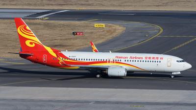 B-7377 - Boeing 737-86N - Hainan Airlines