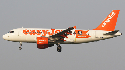 G-EZBG - Airbus A319-111 - easyJet