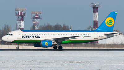 A picture of UK32019 - Airbus A320214 - Uzbekistan Airways - © Yerbol