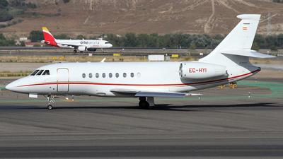 EC-HYI - Dassault Falcon 2000 - Gestair Private Jets