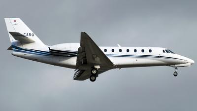 D-CARO - Cessna 680 Citation Sovereign Plus - Aerowest