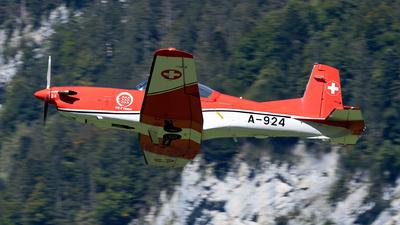A-924 - Pilatus PC-7 - Switzerland - Air Force