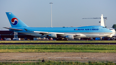 HL7467 - Boeing 747-4B5F(SCD) - Korean Air Cargo
