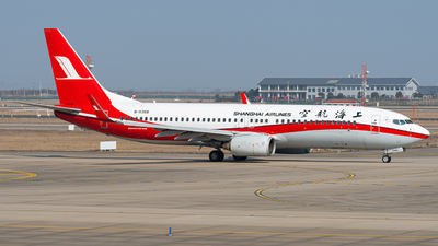 A picture of B5368 - Boeing 7378Q8 - Shanghai Airlines - © Janson Button