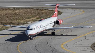 EP-FQJ - Fokker 100 - Qeshm Air