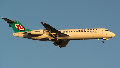 VH-NQE - Fokker 100 - Network Aviation