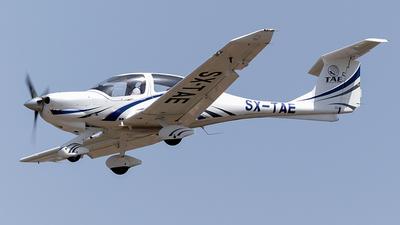 SX-TAE - Diamond DA-40 Diamond Star - TAE Aviation Academy