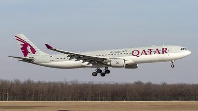 A picture of A7AEF - Airbus A330302 - Qatar Airways - © AvA