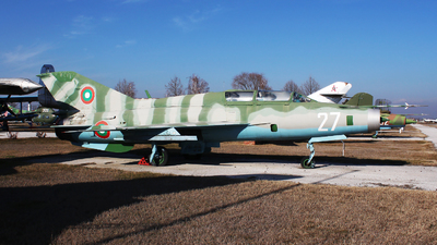 27 - Mikoyan-Gurevich MiG-21UM Lancer B - Bulgaria - Air Force