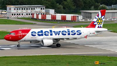 A picture of HBJJN - Airbus A320214 - Edelweiss Air - © Sebastian Thiel