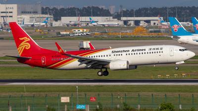 B-5402 - Boeing 737-87L - Shenzhen Airlines