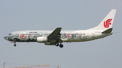B-5176 - Boeing 737-86N - Air China