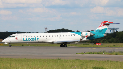 S5-AAZ - Bombardier CRJ-701 - Luxair - Luxembourg Airlines (Adria Airways)