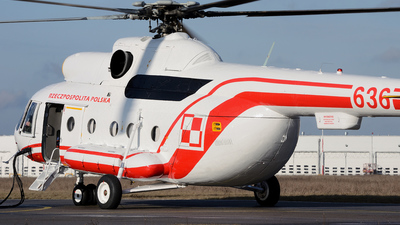 636 - Mil Mi-8P Hip - Poland - Air Force