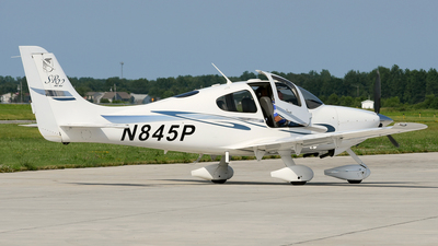 N845P - Cirrus SR22 - Private