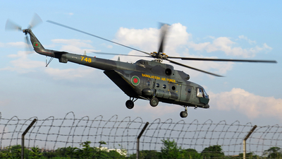 748 - Mil Mi-171A Baikal - Bangladesh - Air Force