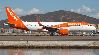 G-EZRX - Airbus A320-214 - easyJet