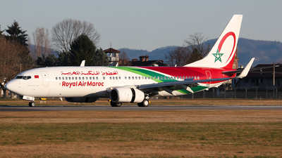 A picture of CNROU - Boeing 7378B6 - Royal Air Maroc - © Flavio Renzi