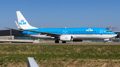 PH-BXV - Boeing 737-8K2 - KLM Royal Dutch Airlines
