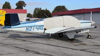A picture of N214RC - Beech S35 Bonanza - [D7453] - © Jamie West