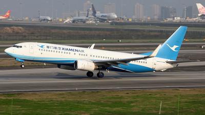 A picture of B5552 - Boeing 73784P - Xiamen Air - © YIJING HOU