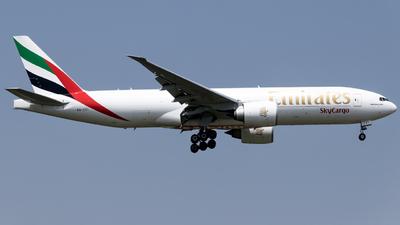 A picture of A6EFI - Boeing 777F1H - Emirates - © O.Shotaro